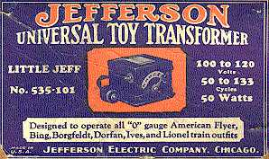 Jefferson Electric Transformer History